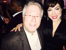 Alan Menken and I at the Party